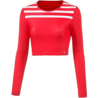 Maui Wowie Surf Shirt Damen rot