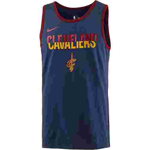 Nike CLEVELAND CAVALIERS T-Shirt Herren COLLEGE NAVY/COLLEGE NAVY/TEAM RED