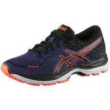 ASICS Cumulus Laufschuhe Kinder INDIGO BLUE-BLACK-SHOCKING ORANGE