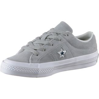 CONVERSE On Star Sneaker Kinder wolf grey-white-navy