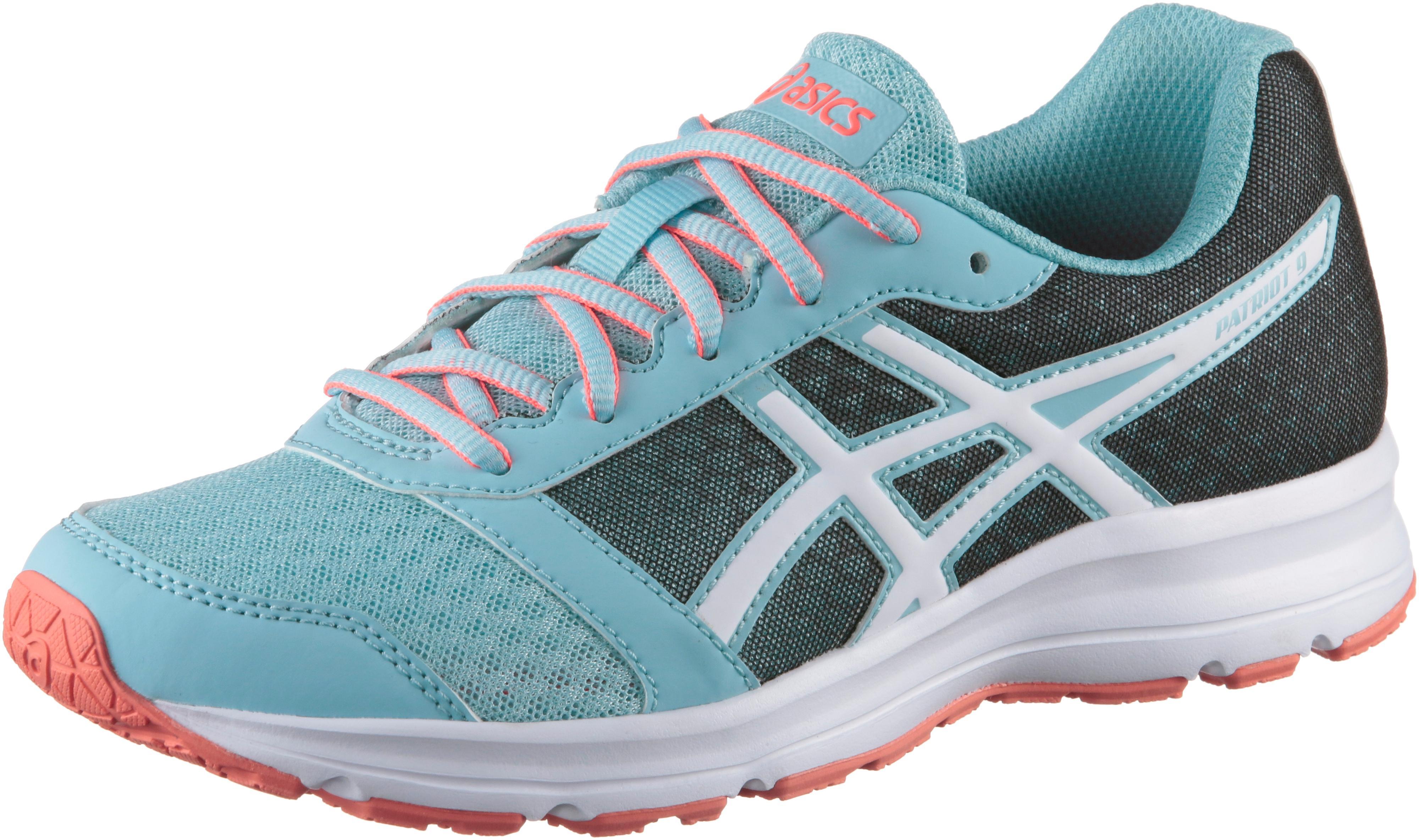ASICS Patriot 9 Laufschuhe Kinder PORCELAIN BLUE-WHITE-FLASH CORAL im  Online Shop von SportScheck kaufen