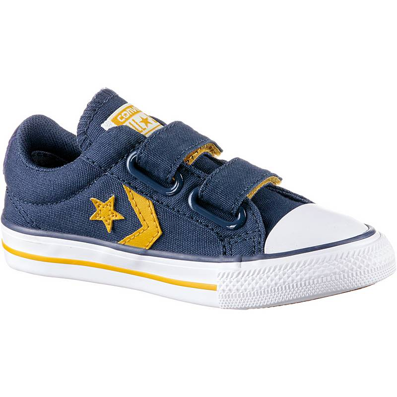 premium selection faeba 1cb3b CONVERSEStar Player EV 2V SneakerKinder navymineral yellowwhite -  sommerprogramme.de