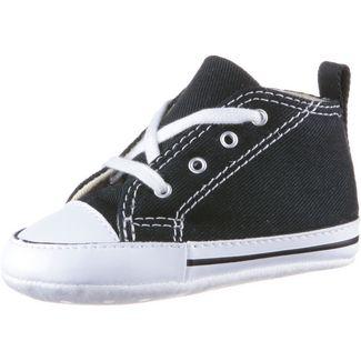 CONVERSE Chuck Taylor First Star Sneaker Kinder black