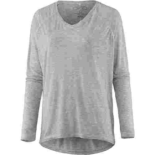 VENICE BEACH Laurinka Langarmshirt Damen light greymelange