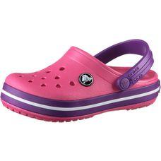 Crocs Crocband Clog Pantoletten Kinder paradiese pink-amethyst