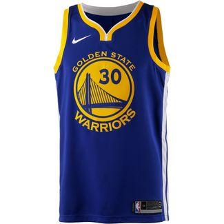 Nike STEPHEN CURRY GOLDEN STATE WARRIORS Basketballtrikot Herren RUSH BLUE/WHITE/AMARILLO