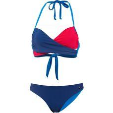 Maui Wowie Bandeau Bikini Damen blu genova