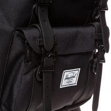 Herschel Little America Mid-Volume Daypack schwarz / weiß