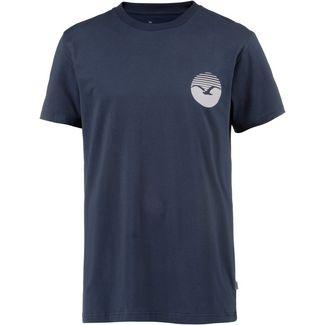 Cleptomanicx Sunrise 2 T-Shirt Herren Dark Navy
