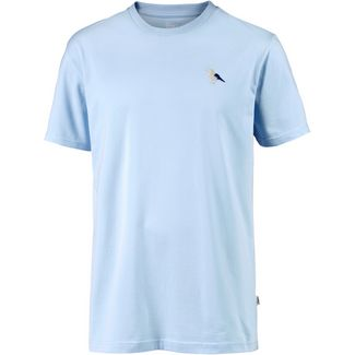 Cleptomanicx Embro Gull T-Shirt Herren Light Blue