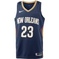 Nike ANTHONY DAVIS NEW ORLEANS PELICANS Basketball Trikot Herren COLLEGE NAVY/CLUB GOLD