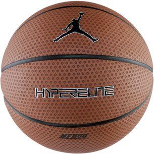Nike JORDAN HYPER ELITE 8P Basketball dark amber/black/metallic silver/black