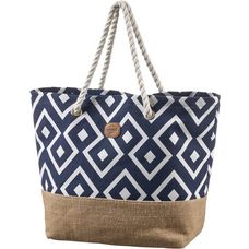 Protest Chalk Strandtasche Damen ground blue