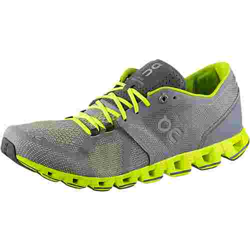 ON Cloud X Laufschuhe Herren grey-neon