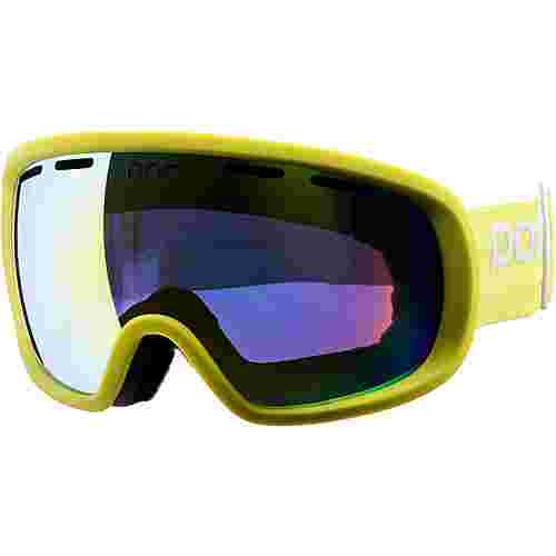 POC Fovea Skibrille hexane yellow
