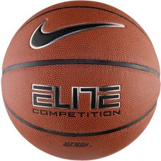 Nike ELITE COMPETITION 8P Basketball amber/black/metallic silver/black