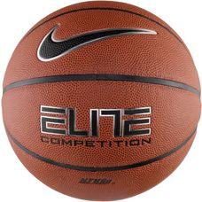 Nike ELITE COMPETITION 8P Basketball amber/black/metallic silver/black