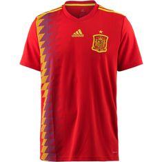 adidas Spanien WM 2018 Heim Fußballtrikot Herren red/boldgold