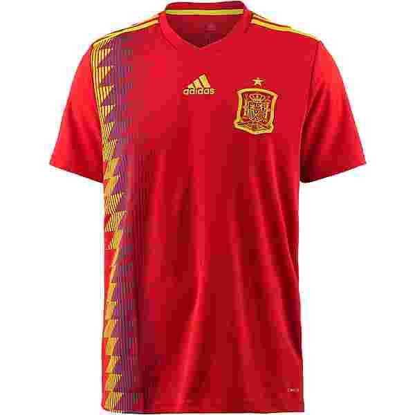 adidas Spanien WM 2018 Heim Trikot Herren red/boldgold