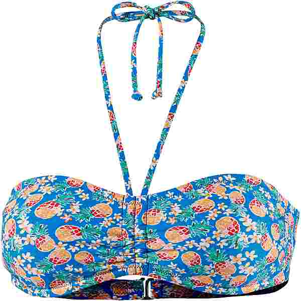 Maui Wowie Bikini Oberteil Damen blau-gelb