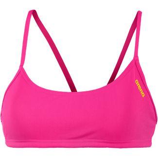 Arena Rule Breaker Bikini Oberteil Damen pink