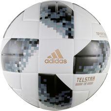 adidas World Cup Relique XMAS Telstar 18 Fußball white/black/silver met.