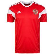 adidas Russland WM 2018 Heim Fußballtrikot Herren red-white