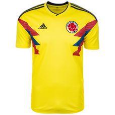 adidas Kolumbien WM 2018 Heim Fußballtrikot Herren briyellow-collenavy