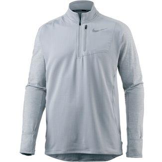 Nike Therma Sphere Element Laufshirt Herren wolf-grey-wolf-grey-htr
