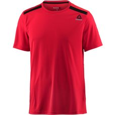 Reebok Workout Tech Funktionsshirt Herren primal-red