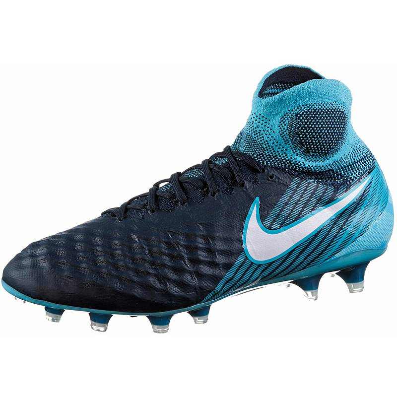 competitive price 49729 79942 Nike MAGISTA OBRA II FG Fußballschuhe Herren obsidianwhite-gamma  blue-glacier blue