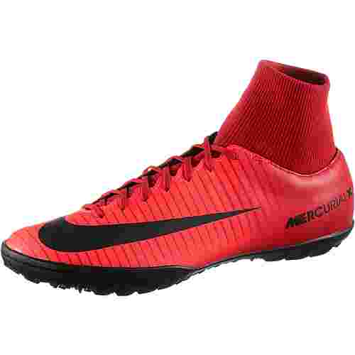 factory price d2619 7dc53 Nike MERCURIALX VICTORY VI DF TF Fußballschuhe Herren university  red/black-bright crimson