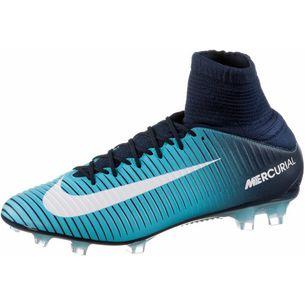 detailed look 92a79 b8340 Nike MERCURIAL VELOCE III DF FG Fußballschuhe Herren thunder blue/glacier  blue-gamma blue