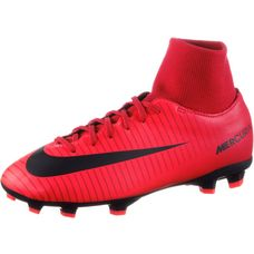 Nike JR MERCURIAL VICTORY VI DF FG Fußballschuhe Kinder university red/black-bright crimson