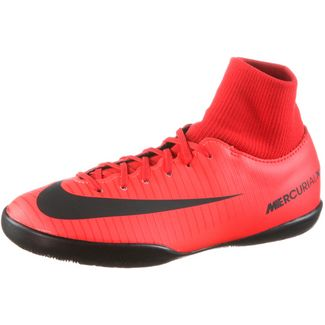 Nike JR MERCURIALX VICTORY 6 DF IC Fußballschuhe Kinder university red/black-bright crimson