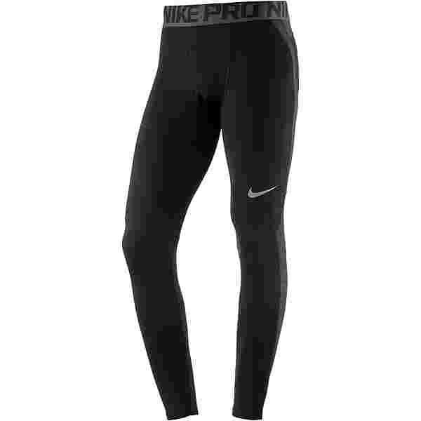 Nike Pro Hyperwarm Tights Herren black-cool-grey-cool-grey