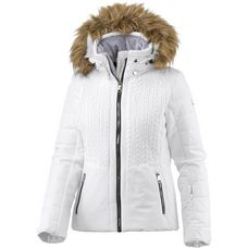 Luhta Beta Skijacke Damen optic white
