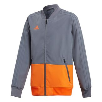 adidas Condivo 18 Präsentationsjacke Funktionsjacke Kinder Grey / Orange