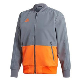 adidas Condivo 18 Präsentationsjacke Trainingsjacke Herren Grey / Orange