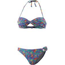 Maui Wowie Bandeau Bikini Damen lila