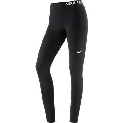 Nike Pro Tights Damen black-black-white