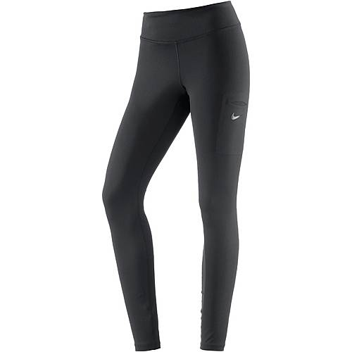 Nike Power Tights Damen black-clear