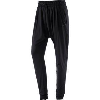 Nike Dry Flow Trainingshose Damen black-clear