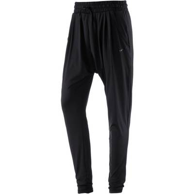 Nike Dry Flow Trainingshose Damen black-clear