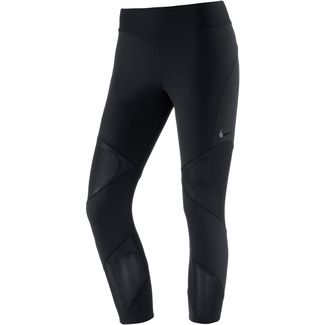 Nike Power Fly Tights Damen black-clear