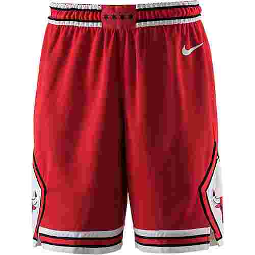Nike CHICAGO BULLS Shorts Herren UNIVERSITY RED/WHITE/WHITE