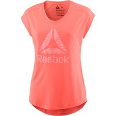 Reebok Workout Ready Supremium T-Shirt Damen guava punch-guava