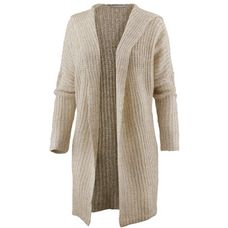 Only Strickjacke Damen simply taupe