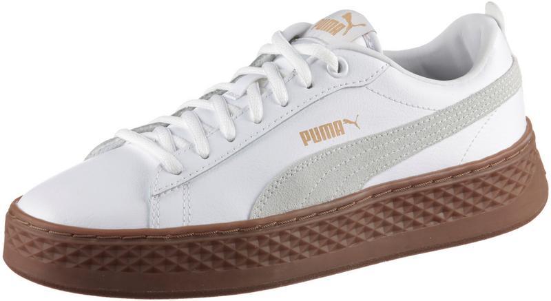 Puma »smash Platform L« Sneaker, Weiß, White