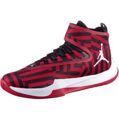 Nike Jordan Fly Sneaker Herren gym red-white